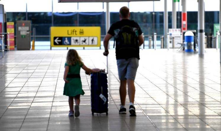 Brisbane Airport COVID case low risk: Young